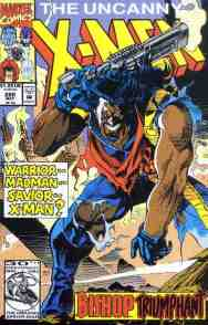 Uncanny X-Men comic book cover #288