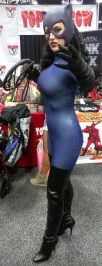 Catwoman Cosplayer with Big Boobs
