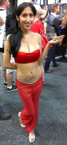 Jasmin cosplay
