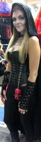 Sexy corset at Comic-Con