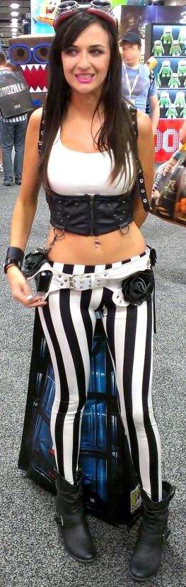 Sexy striped pants