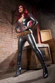 Grey uniform, Black Widow Cosplay