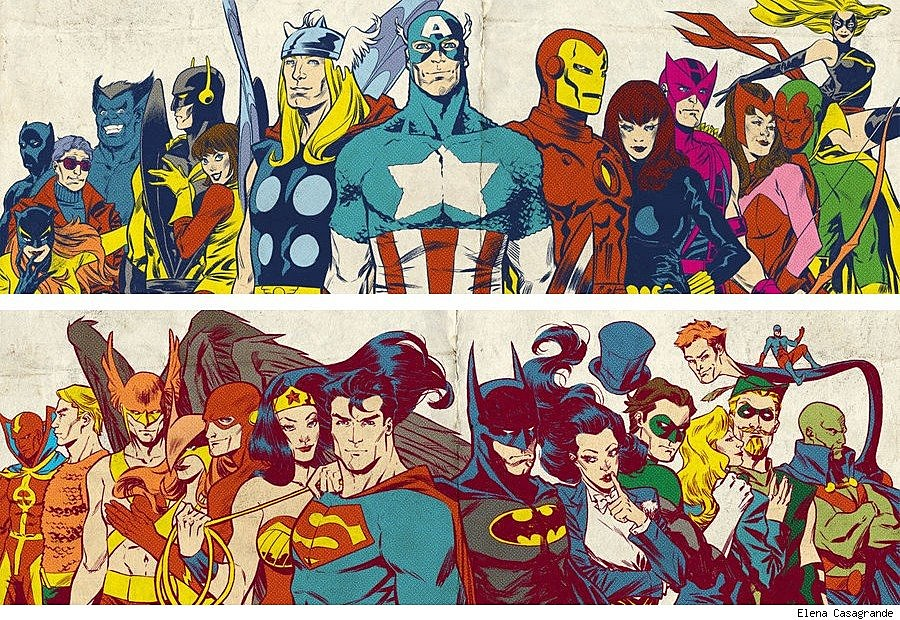 Image result for justice league vs avengers cosplay