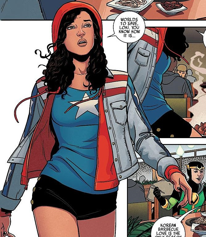Jamie McKelvie America Chavez Marvel Point One