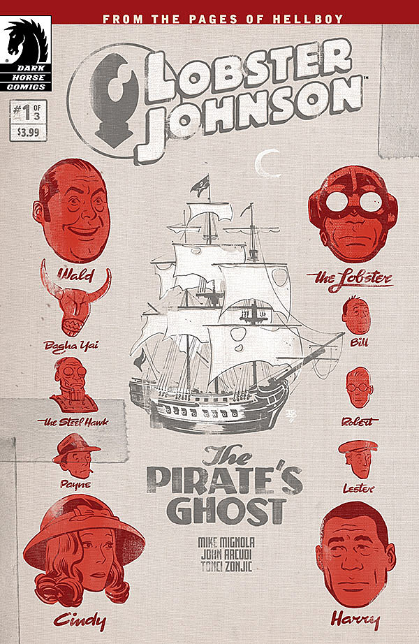 Image result for lobster johnson pirate's ghost #1