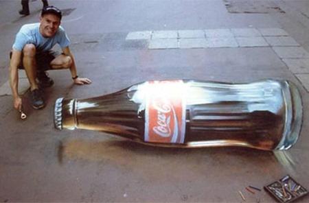 Coca-Cola (Julian Beever)