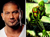 Dave Bautista as Drax the Destroyer