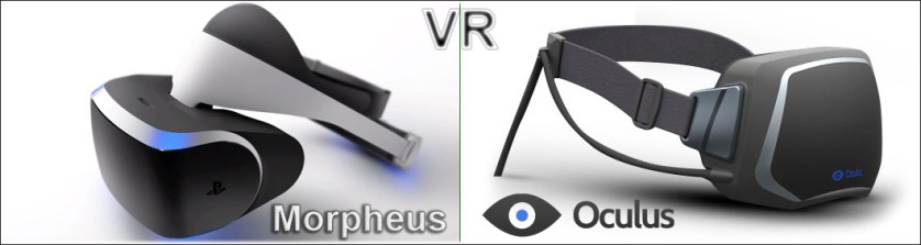 virtual reality morpheus oculus vr