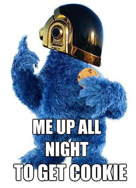 Cookie Monster Daft Punk Meme