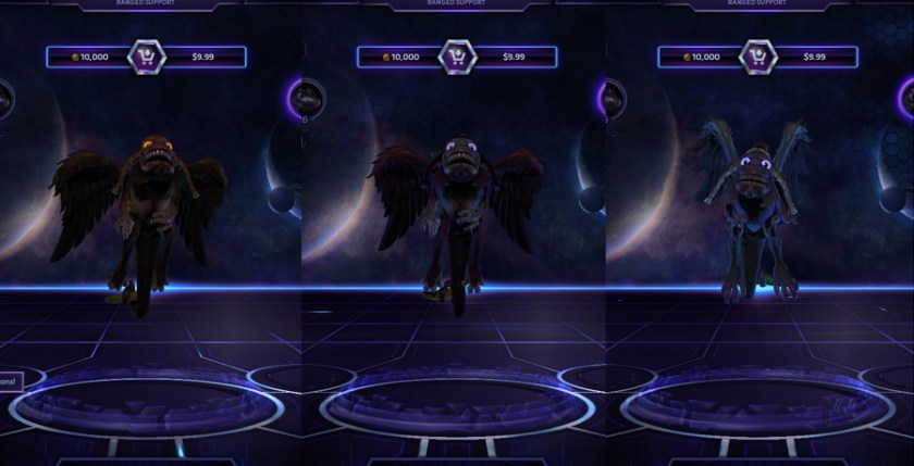 heroes storm Brightwing skins flying monkey