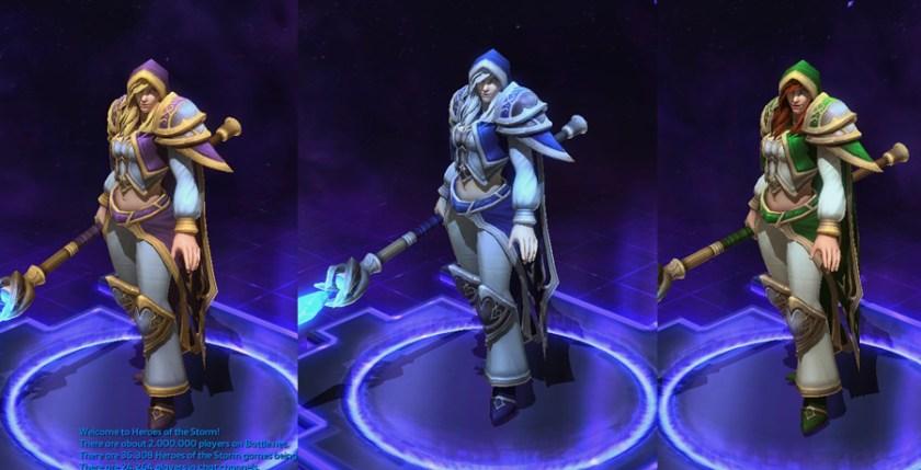 heroes storm Jaina skins default