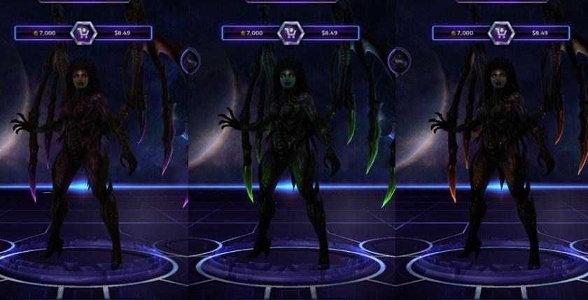 heroes storm Kerrigan skins default