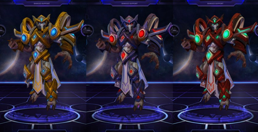 heroes storm Tassadar skins master