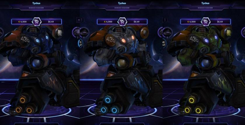 heroes storm Tychus skins master