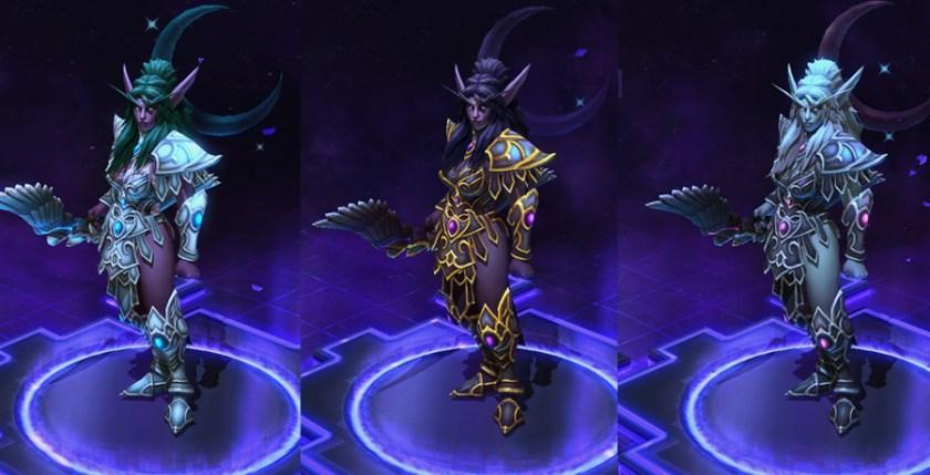 heroes storm Tyrande skins default