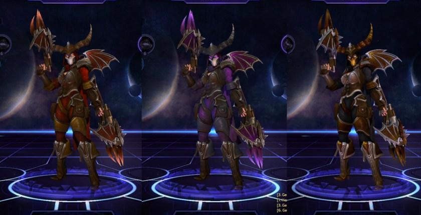 heroes storm Valla skins master