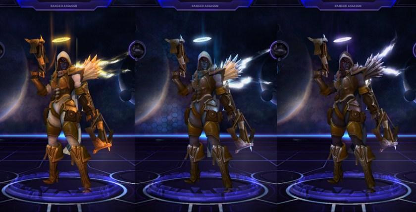 heroes storm Valla skins vampire angelic