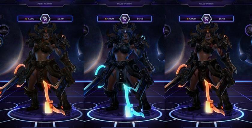 heroes storm sonya skins master