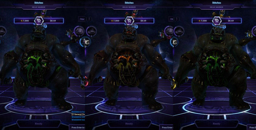 heroes storm stitches skins master
