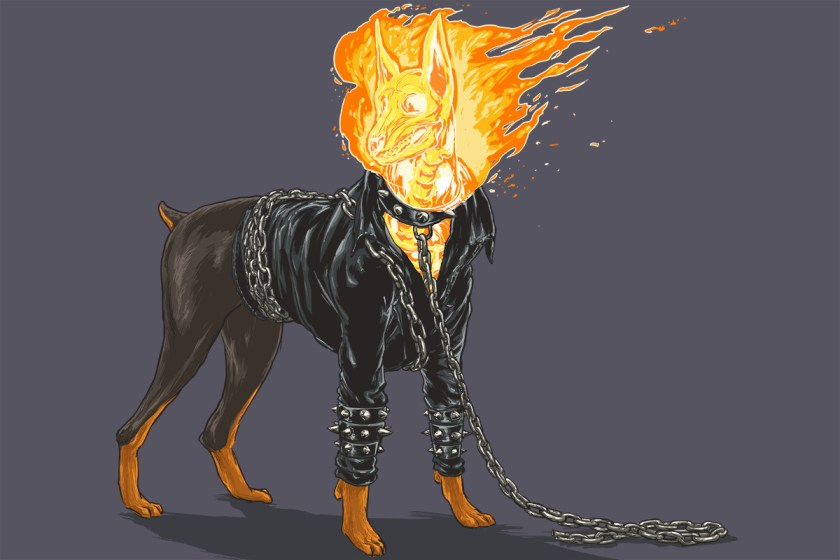 josh lynch marvel dogs 006 ghost rider