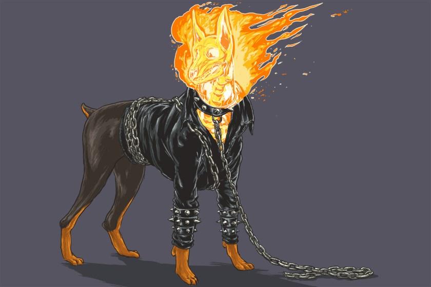 josh lynch marvel dogs 006 ghost rider