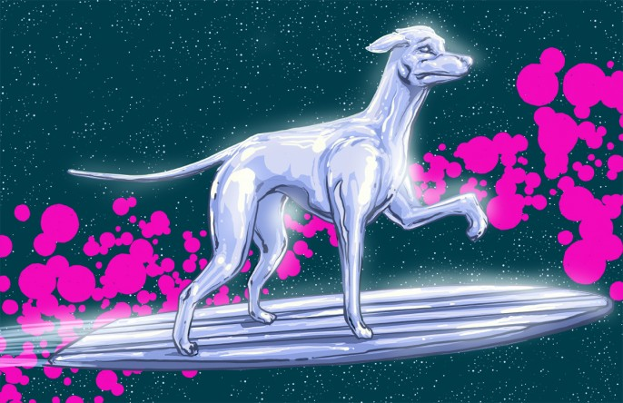josh lynch marvel dogs 009 silver surfer