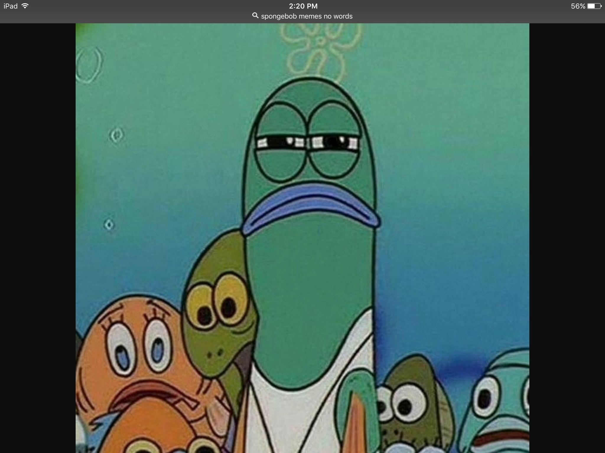 blank-meme-template-spongebob-disappointed-green-fish ...