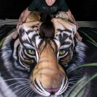 Body Paint Illusion Art