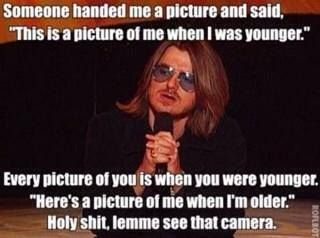 mitch hedberg meme 002 pic of me when i was younger