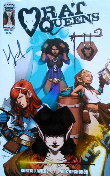 Rat Queens Issue 1 - Signed by Kurtis Weibe
