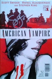 American Vampire Issue 1 - Signed by Scott Snyder