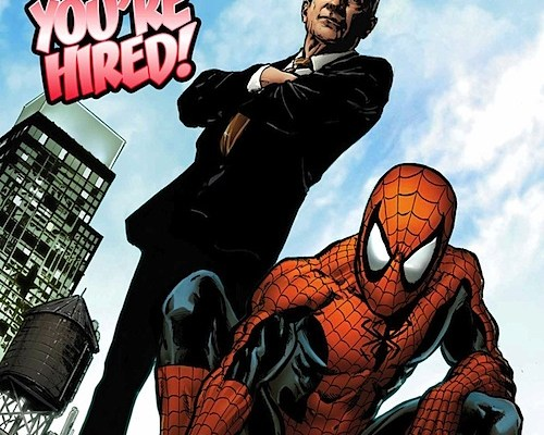 Spidey teams with Bloomberg for jobs