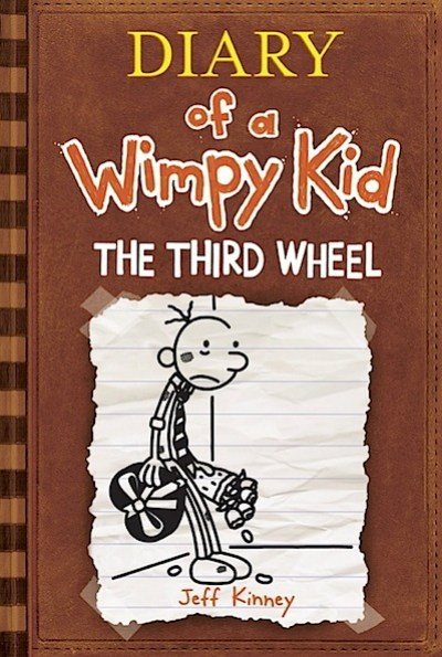Wimpy Kid #7 The Third Wheel