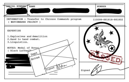 Chronos Commandos Orientation Pack - pg2