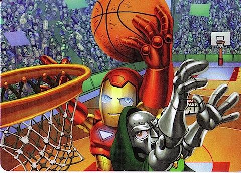 doom iron man basketball