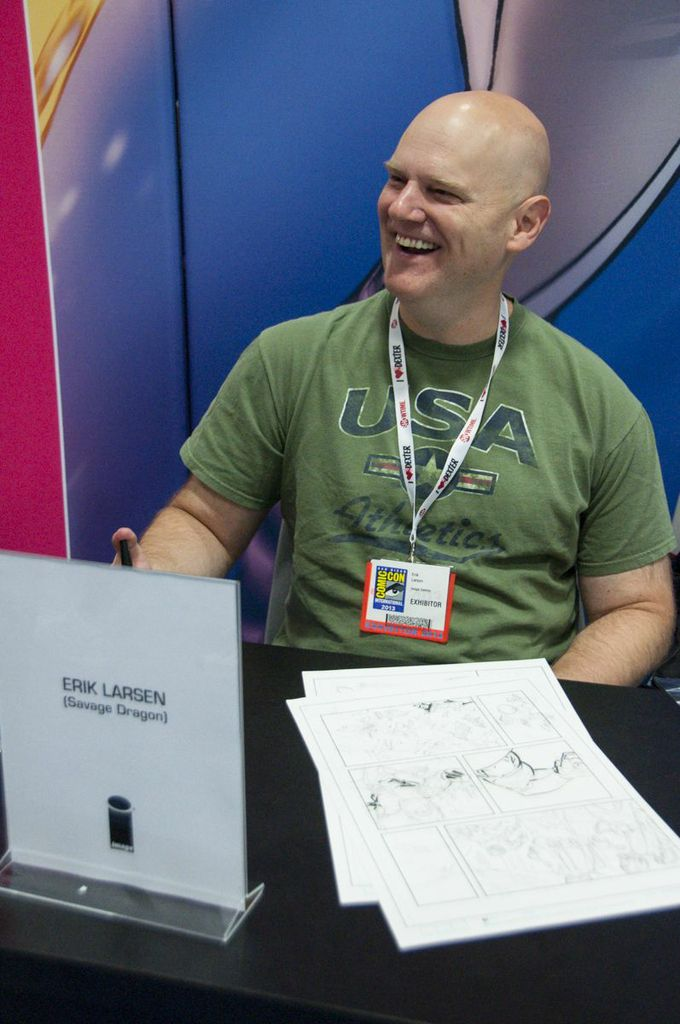 SDCC2013, San Diego Comic Con, Erik Larsen, Savage Dragon, Image Comics