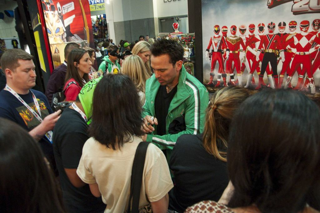 Jason David Frank, Green Power Ranger, Tommy, SDCC2013, San Diego Comic Con