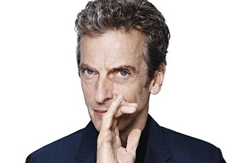 Peter Capaldi doctor who.