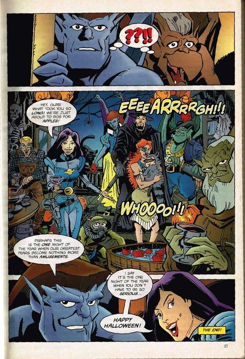 24 Hours of Halloween Special: The Gargoyles Halloween ...