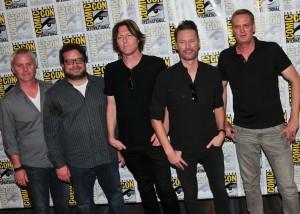 Composers Tyler Bates, Christophe Beck, Blake Neely, John Ottoman, and Brian Tyler.