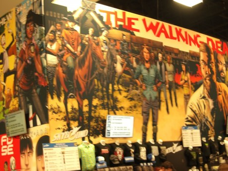 Walking Dead Comic Wall