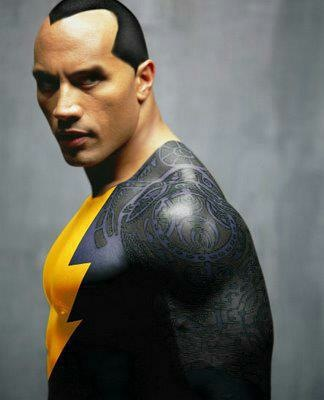 the rock as black adam