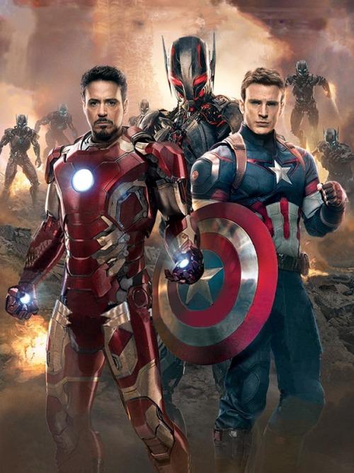 avengers  2 iron man captain america