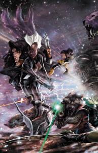 Guardians of the Galaxy & X-Men: Black Vortex Alpha #1 Variant, Art by Alexander Lozano