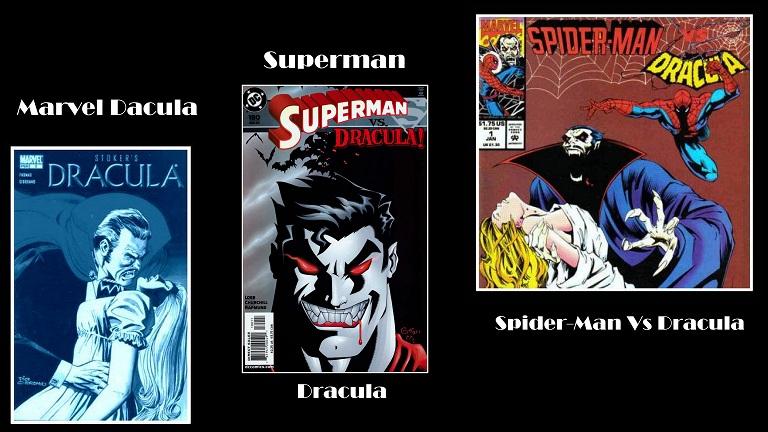 Marvel Comics DC Comics Superman Vs Dracula Spider-Man Vs Dracula