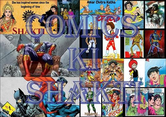 Comics Ki Shakti Collage