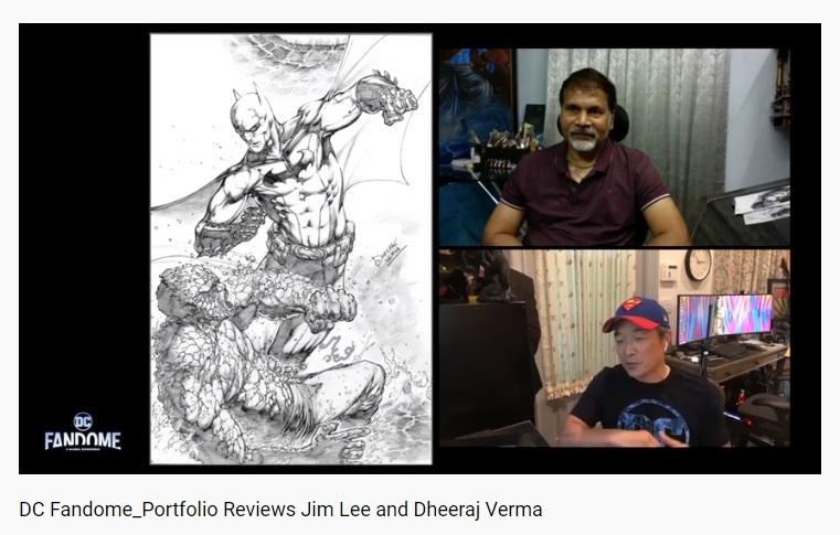Jim Lee - Dheeraj Verma - DC FanDome