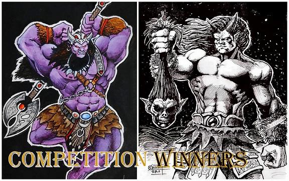 Fiction Comics - Fan Art Winners