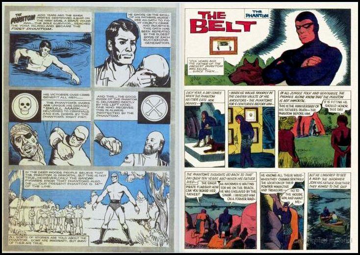Indrajal Comics - The Phantoms Belt - 1st Issue - Internal Pages
