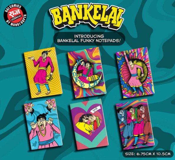 Bankelal Funky Notepads - Raj Comics